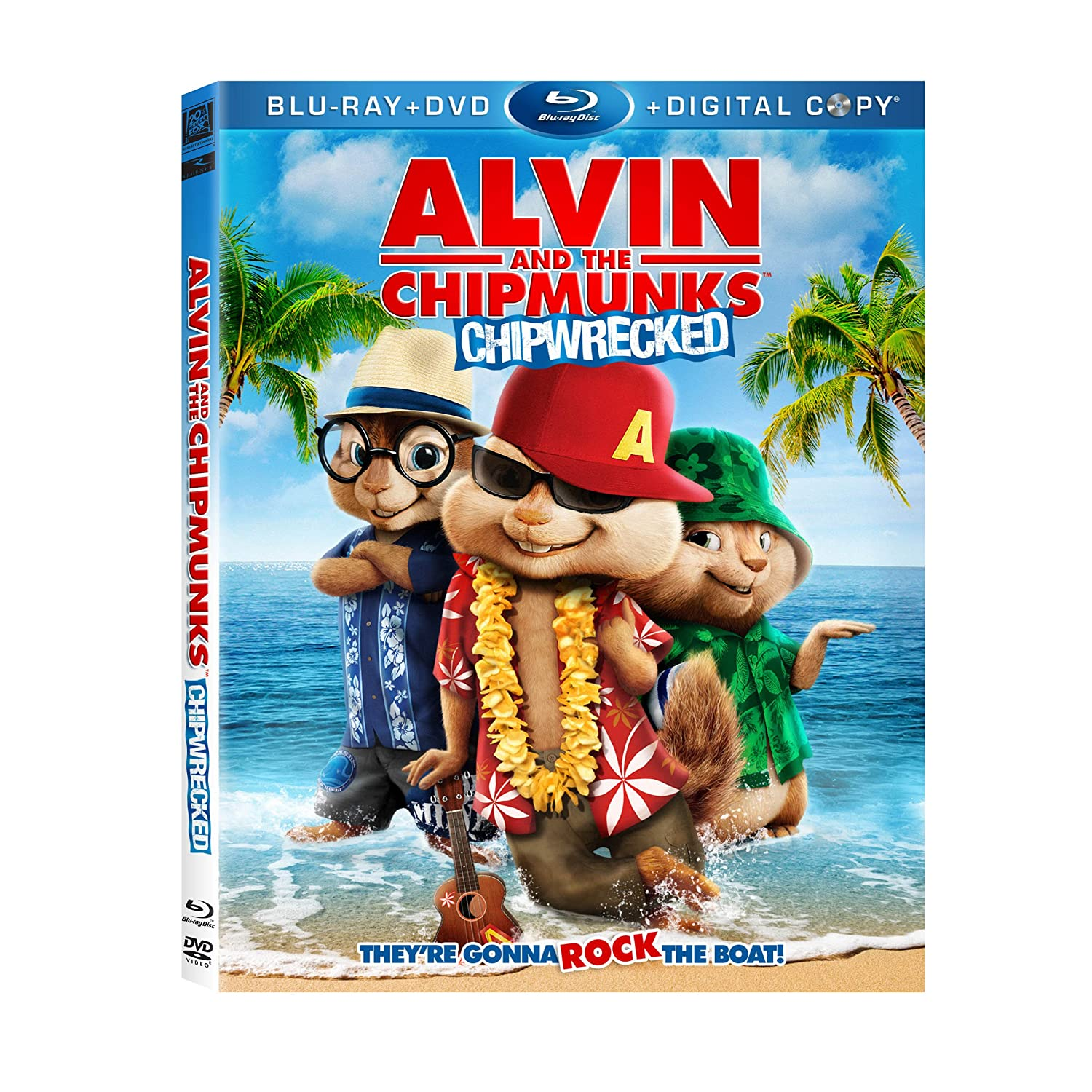 Alvin And The Chipmunks Chipwrecked Movie Review 2 Boys 1 Girl One Crazy Mom