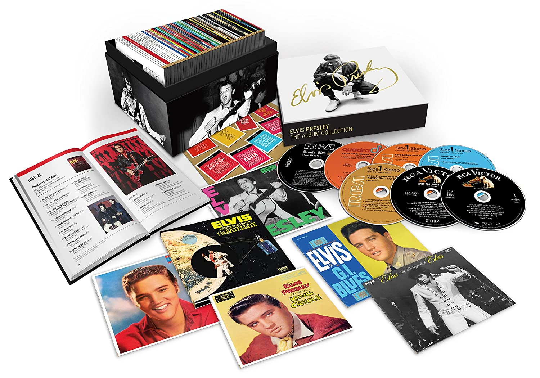 elvis presley 1956 2016 the album collection 60 cd deluxe box set