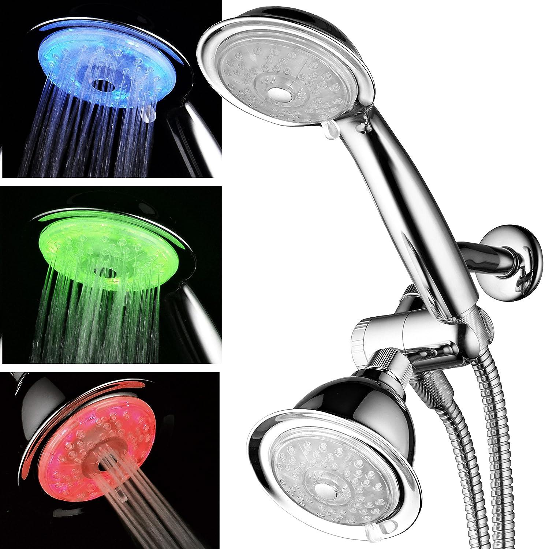 luminex tm airturbo led combo shower head
