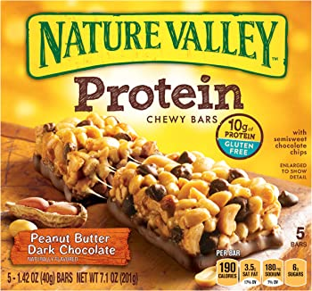 6pks. Nature Valley Chewy Protein Bar