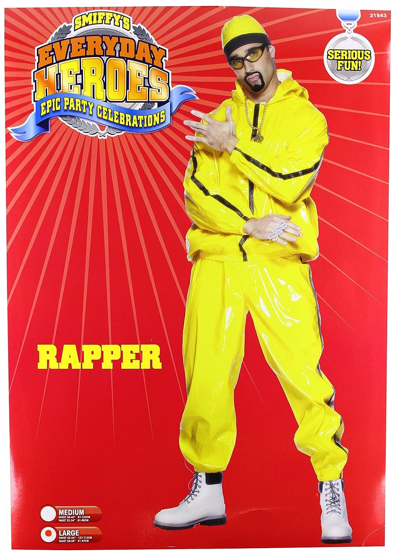 Ali g Rapper Suit Smiffy's Men's Rapper Suit Pvc