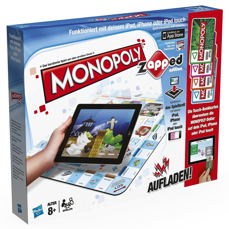 Hasbro 38115100 - Monopoly Zapped - spielbar