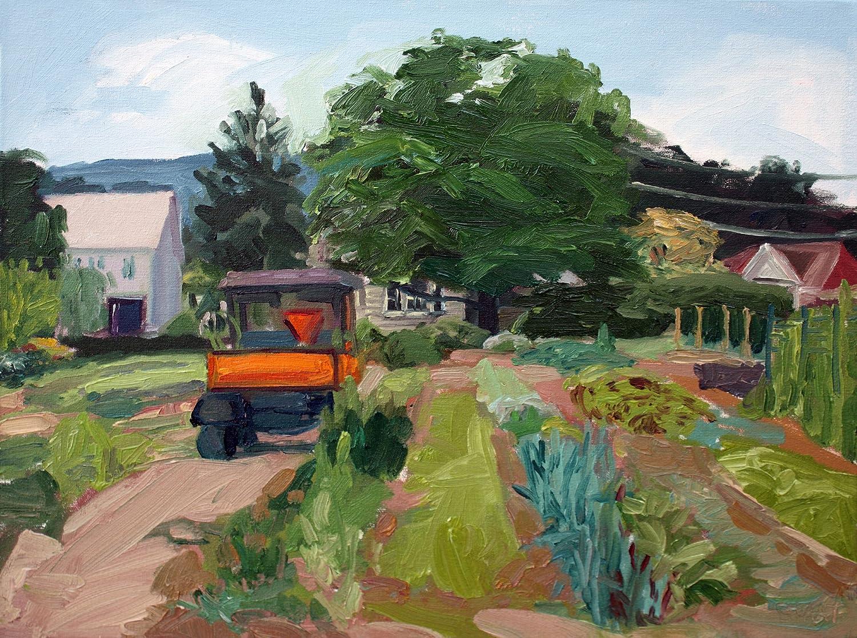Organic Garden by Roberta Staat