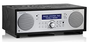 Chaine Hifi Compacte Tivoli Music System2 Bois Noir