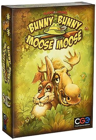 """tchèque Jeux Edition cge00008""""Lapin Bunny Moose Moose Jeu"""