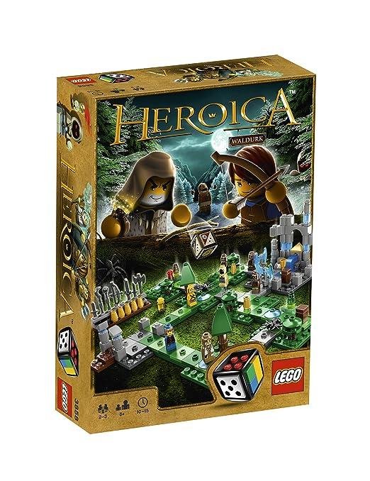 LEGO Games - 3858 - Jeu de Société - Waldurk la Forêt Hantée