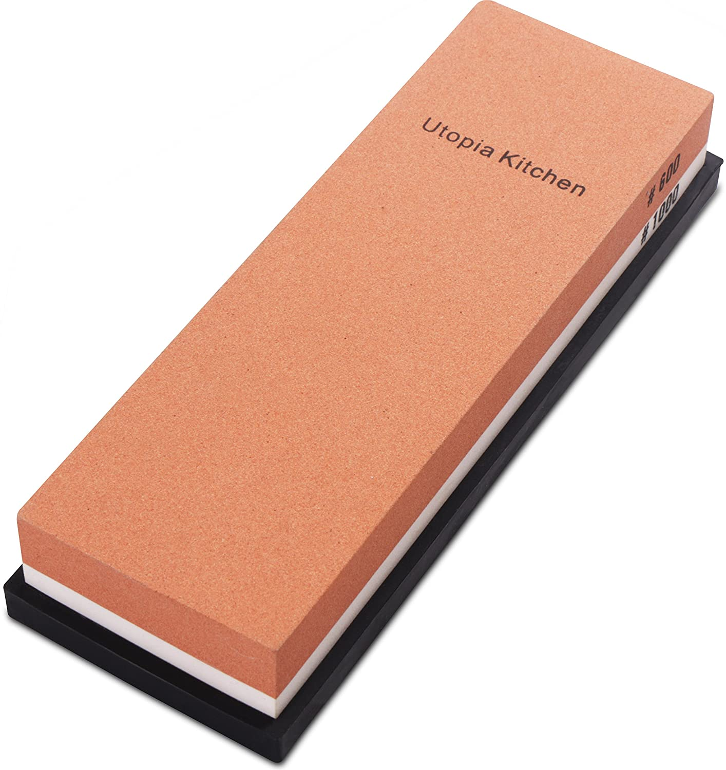 Utopia Kitchen Double-sided Knife Sharpening Stone