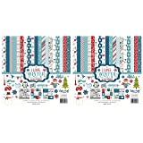 Echo Park Paper Company I I Love Winter Collection Kit (?wo ?ack) (Tamaño: ?wo ?ack)