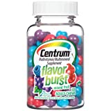 Centrum Adult Flavor Burst (120 Count, Mixed Fruit Flavor) Multivitamin/Multimineral Supplement Chews, Vitamin A, Vitamin C, Vitamin D (Tamaño: 120 Count)