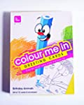 61c Colour Me In Greeting Card
