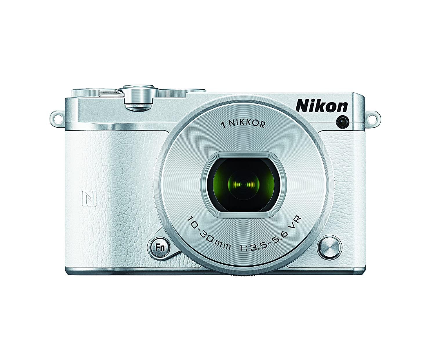 Nikon 1 J5 Mirrorless Camera w/ 10-30mm PD-ZOOM Lens (White)