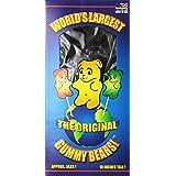 World's Largest Gummy Bear, Approx 5-pounds Giant Gummy Bear - Blue Raspberry (Color: Blue, Tamaño: 80 Ounces)