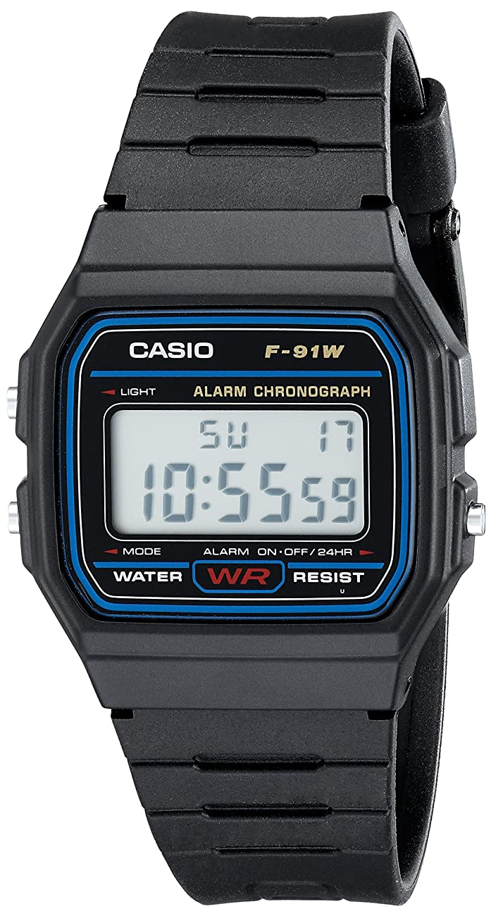 Casio F91W-1 Classic Resin Strap Digital Sport Watch 0