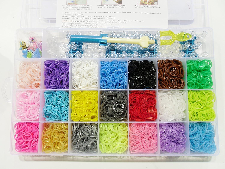 LOVE Loom Bänder in Megabox, mit Webrahmen,schöne