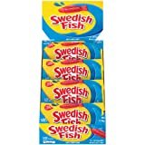 Swedish Fish A Fat Free Food Soft and Chewy Candy 24 2-Ounce Bags Net Weight 3-Pound 24 Count (Tamaño: 24 count)