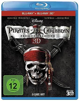 Pirates of the Caribbean: Fremde Gezeiten (+ Blu-ray 3D) [Blu-ray]