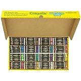 Crayola 52-1617 Class Pack Crayola Construction Paper Crayons, 25 ea. of 16 Colors, 400/Set (Color: Assorted, Tamaño: Standard)