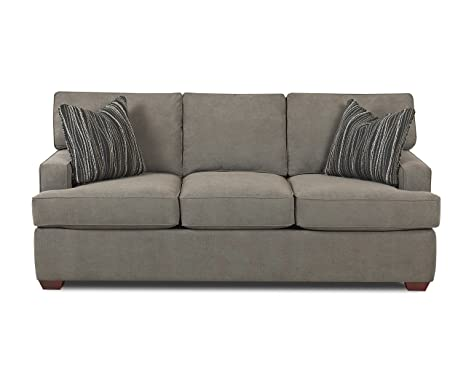 Klaussner Selection Sofa, Charcoal/Midnight