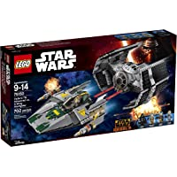 Lego Star Wars Vaders TIE Advanced vs A Wing Starfighter