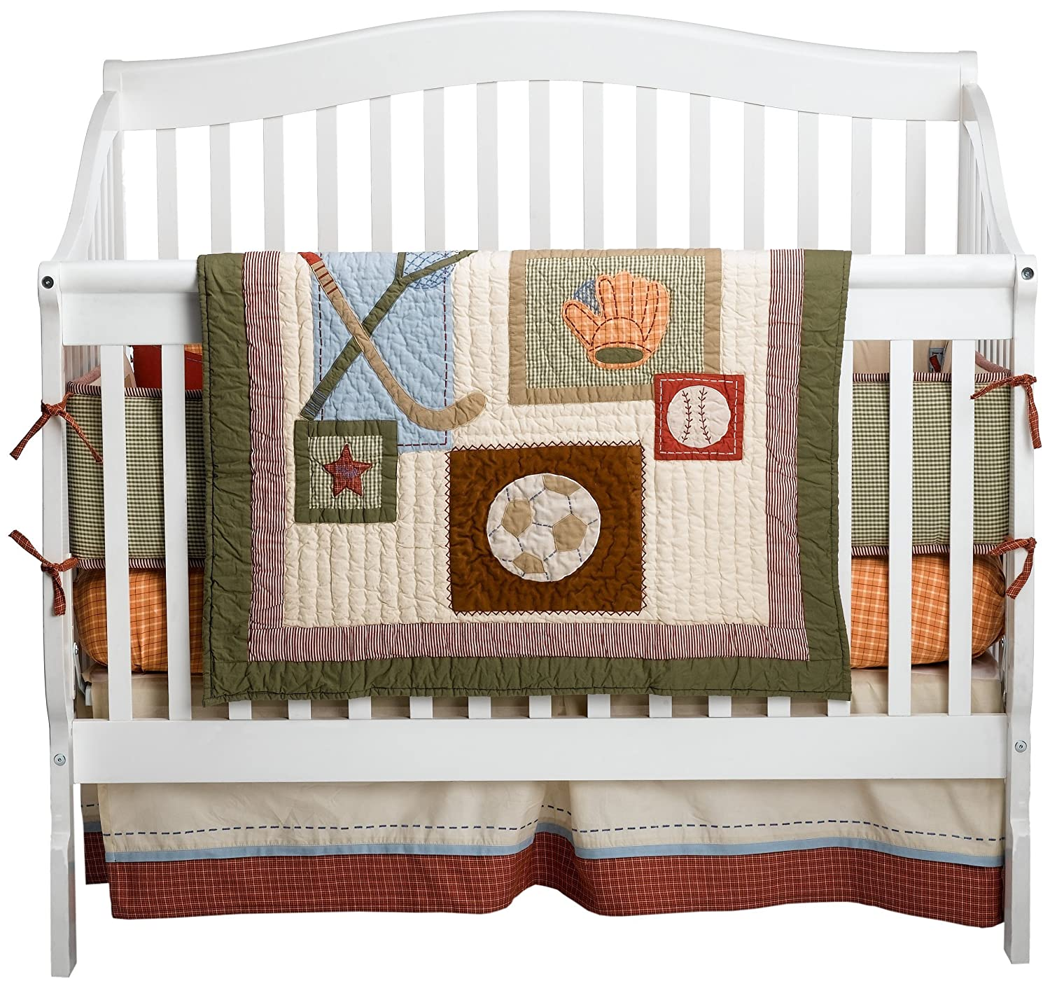 Sumersault Baby All Stars Baby Bedding
