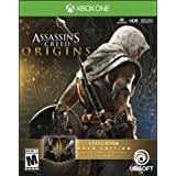 Assassin's Creed Origins Steel Book Gold Edition - Xbox One (Color: gold)