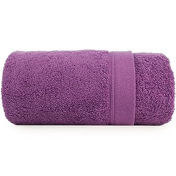 serviette de bain fortecolori fortecolori violet 70x140 cm cuisine maison o253. Black Bedroom Furniture Sets. Home Design Ideas