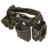 Gatorback B145 Carpenters Triple Combo w/Pro-Comfort Back Support Belt. Heavy Duty Work Belt (Medium 31