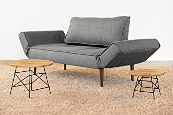 INNOVATION Istyle Schlafsofa Zeal dark grey