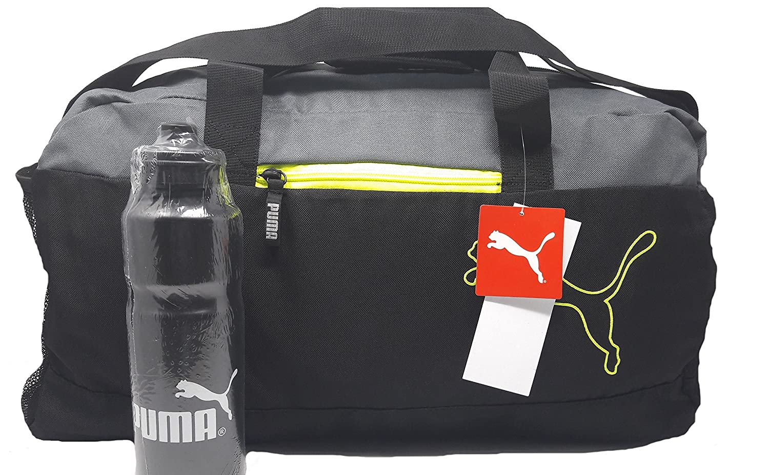 50% Off Or More Off On GYM Bags By Amazon | Puma Multicolor Polyester 1024Cms Softsided Gym/Travel Duffle @ Rs.1,150