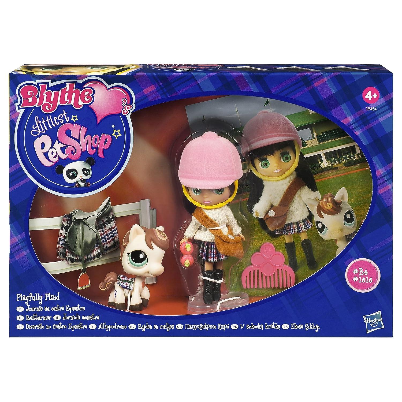 Littlest Pet Shop - Blythe Love`s Littlest Pet Shop - #1616 Pferd weiß + #B4 Blythe - OVP - Hasbro