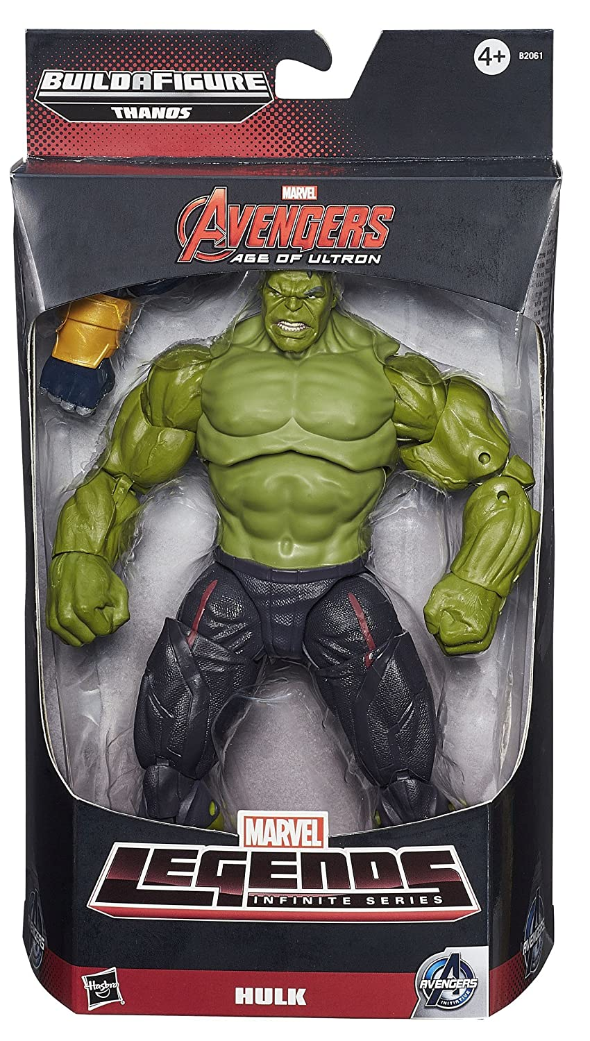 DISNEY Marvel Legends Infinite Actionfigur HULK – mit Build-A-THANOS Part (Age of ULTRON) günstig bestellen
