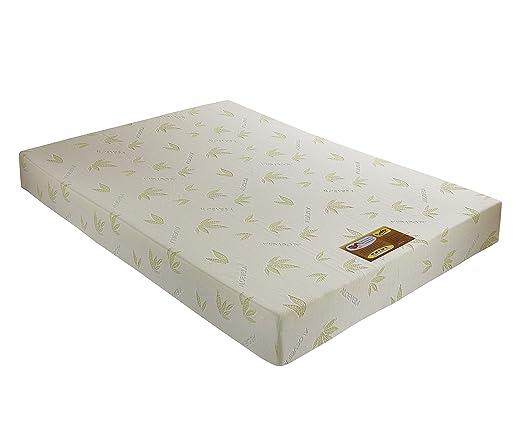 PUREFLEX Aloe Vera Luxus Memory 2/648Schaum-Matratze, 48x 75x 20,3cm, Weiß