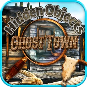Hidden Objects - Haunted Ghost Town & Object Time Games