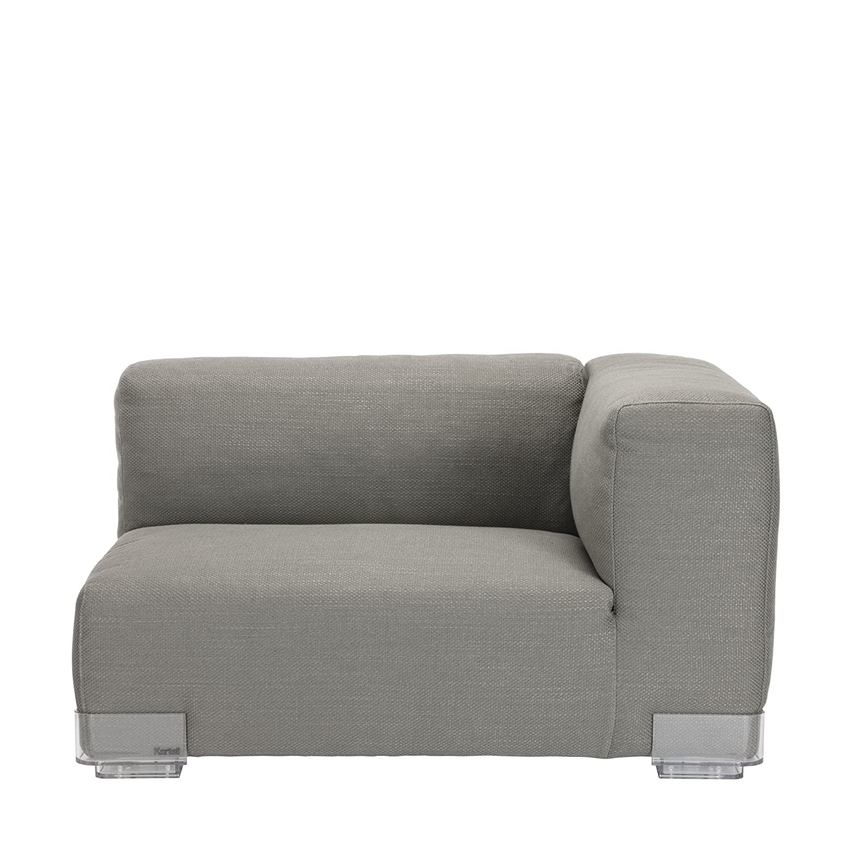Plastics Duo 7099 Sessel Armlehne rechts hoch – grau