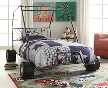 Xander Racing Car Twin Bed