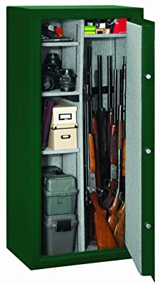 Stack-On-SS-22-MG-C-22-gun-safe-with-some-guns-and-equipments