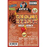 Carolina Reaper Spicy Beef Jerky-GLUTEN FREE - No Preservatives, Nitrites, or MSG (Tamaño: 1)