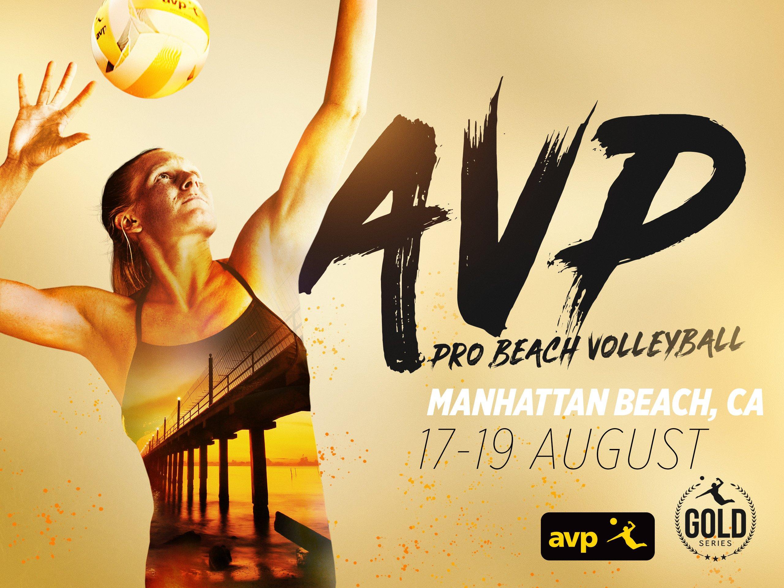 2018 AVP Gold Series // Manhattan Beach Open - Pro Beach Volleyball - 2018
