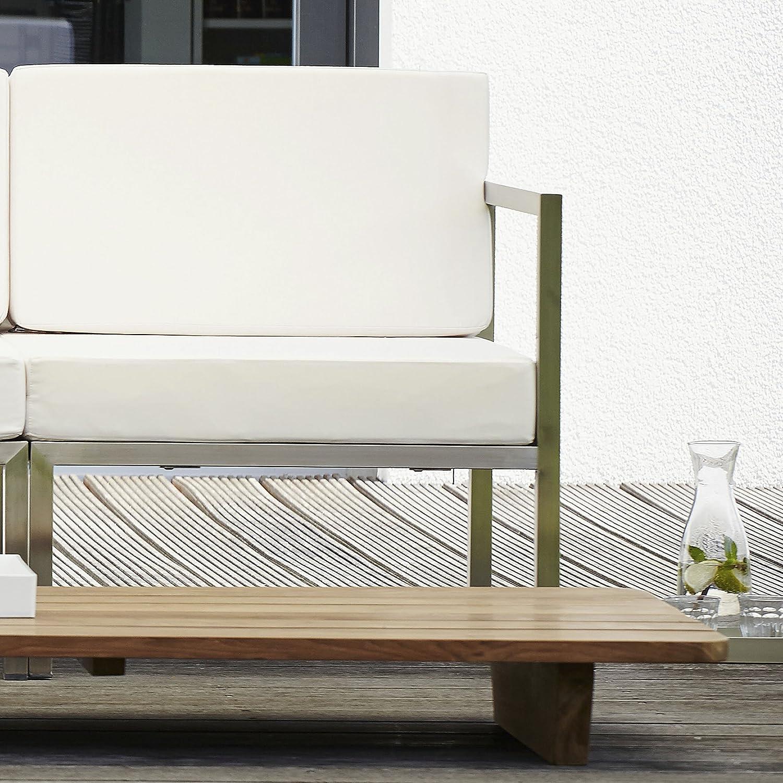 Lux Lounge Eckelement weiß 67 x 67 cm, h 62 cm günstig bestellen