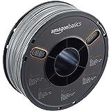 AmazonBasics ABS 3D Printer Filament, 1.75mm, Gray, 1 kg Spool (Color: Gray, Tamaño: 1.75mm)