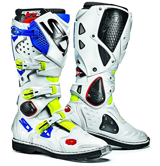 Sidi 000MMFIRE2 gIFLBIBL moto bottes multicolore