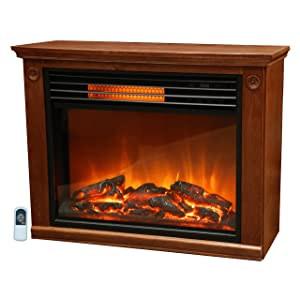 <strong>Lifesmart Large Room Infrared Quartz Fireplace</strong> width=