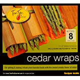 TrueFire Gourmet TFWraps8-8 8-Pack 7.25 by 8-Inch Cedar Wraps with twine (Color: Original Edition)