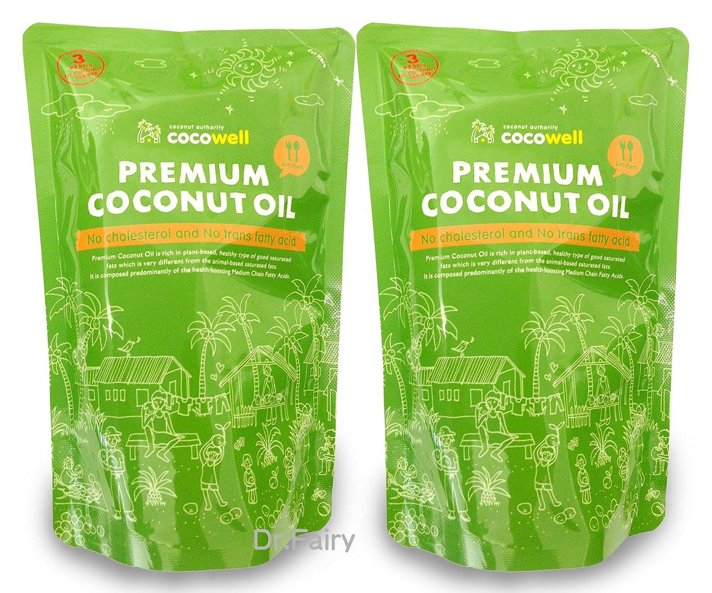 ココウェル プレミアムココナッツオイル2個セット(500mlX2個) »