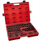 Sunex 3580 3/8-Inch Drive Master Impact Socket Set, Inch/Metric, Standard/Deep, 6-Point, Cr-Mo, 5/16-Inch - 3/4-Inch, 8mm - 19mm, E5 - E16, T20 - T55, 80-Piece (Tamaño: Drive Master Impact Socket Set)