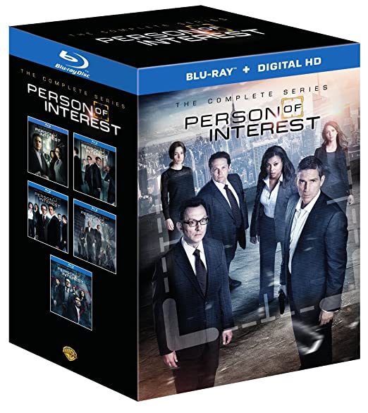 Person of Interest: The Complete Series (Seasons 1-5) (TV) (2011-2016) Blu-ray