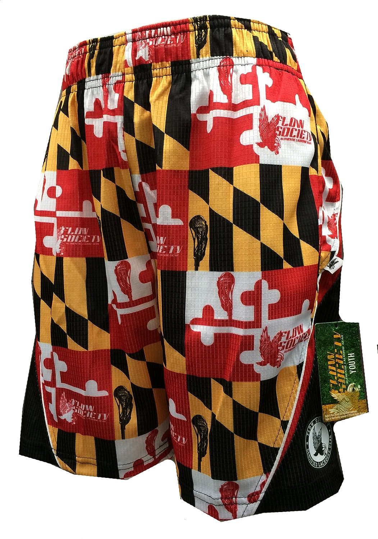 Shorts Maryland Flag Red