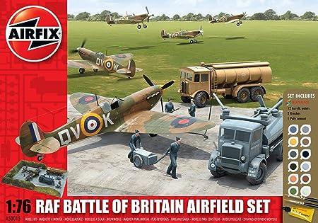 Airfix - A50015 - Maquette - RAF Battle Of Britain Airfield Set