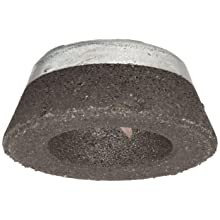 "Norton Charger Portable Snagging Abrasive Wheel, Type 11 Flaring Cup, Zirconia Alumina, 5/8""-11 Arbor, 5/3"" - 13/16"" Diameter, 2"" Thickness, 16 Grit (Pack of 1)"