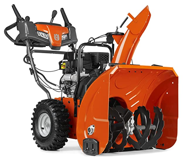 Husqvarna ST224 Two Stage Electric Start Snow Thrower Review